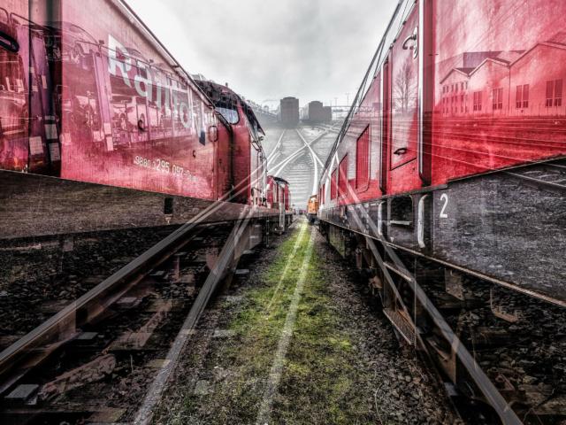 """Photoart """"Railway"""" by Michael Ermel"""