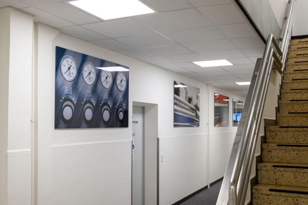 Kunst im Druckzentrum Neumünster
