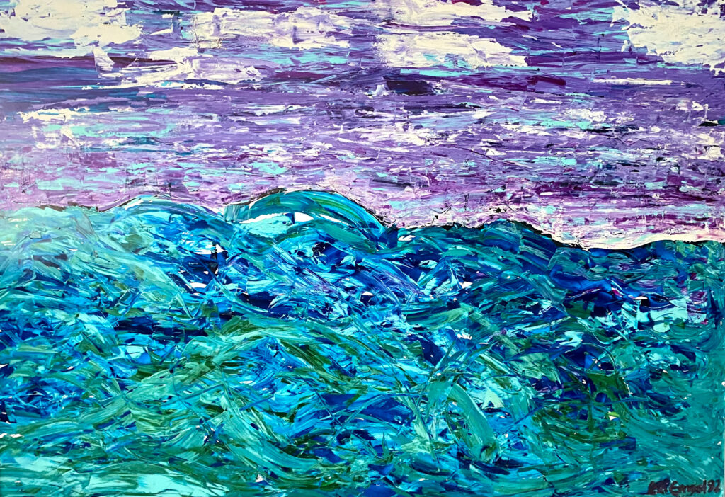 Malerei - das Meer