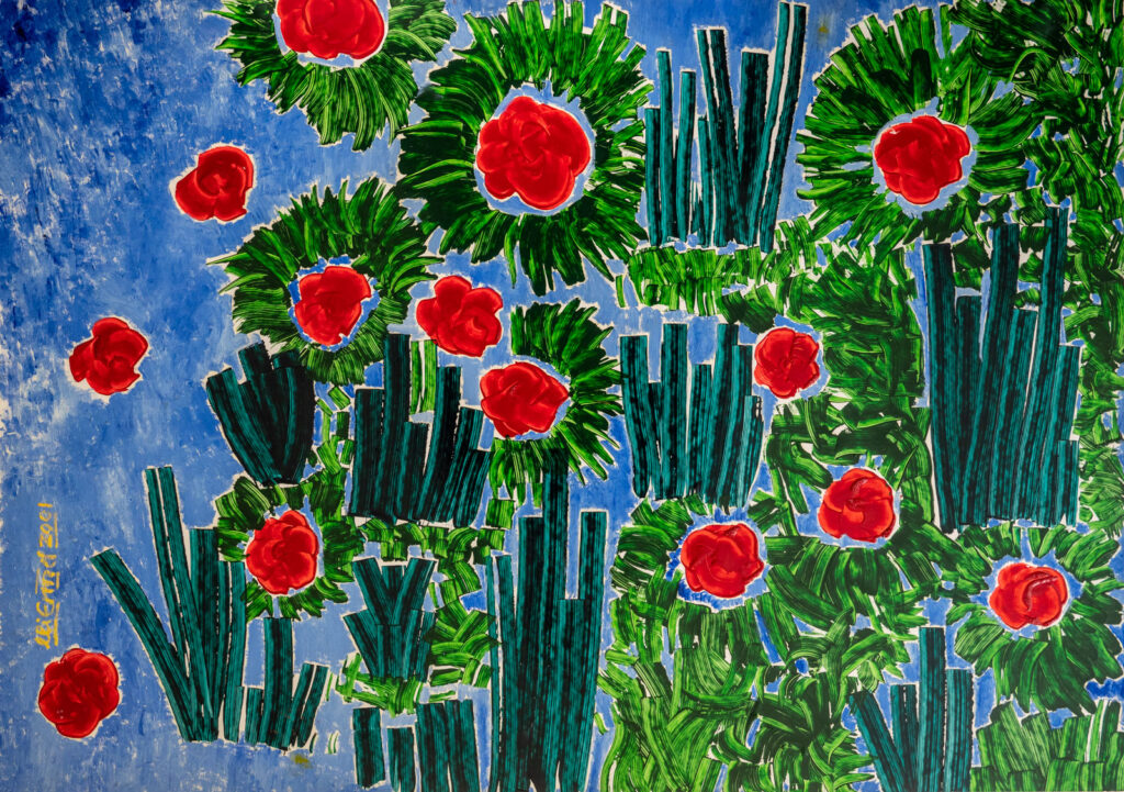 Malerei von Michael Ermel