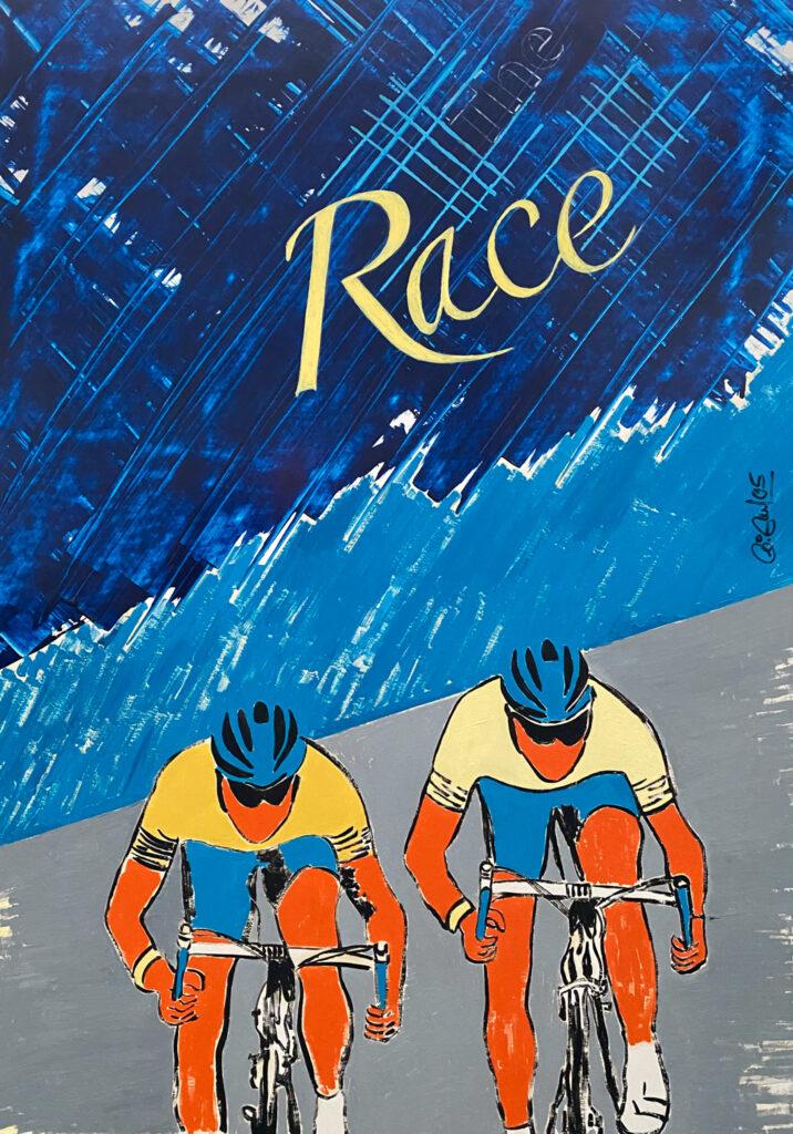 Malerei - The Race